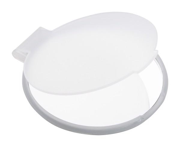Zrcátko Thiny - Bílá / Bílá