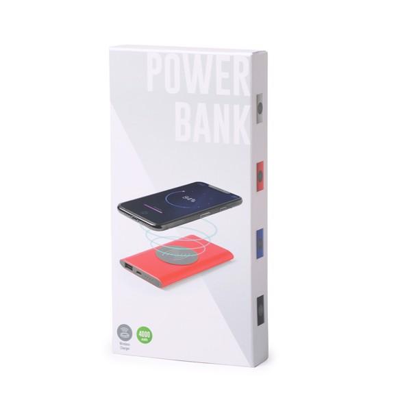 Power Bank Tikur - Plateado