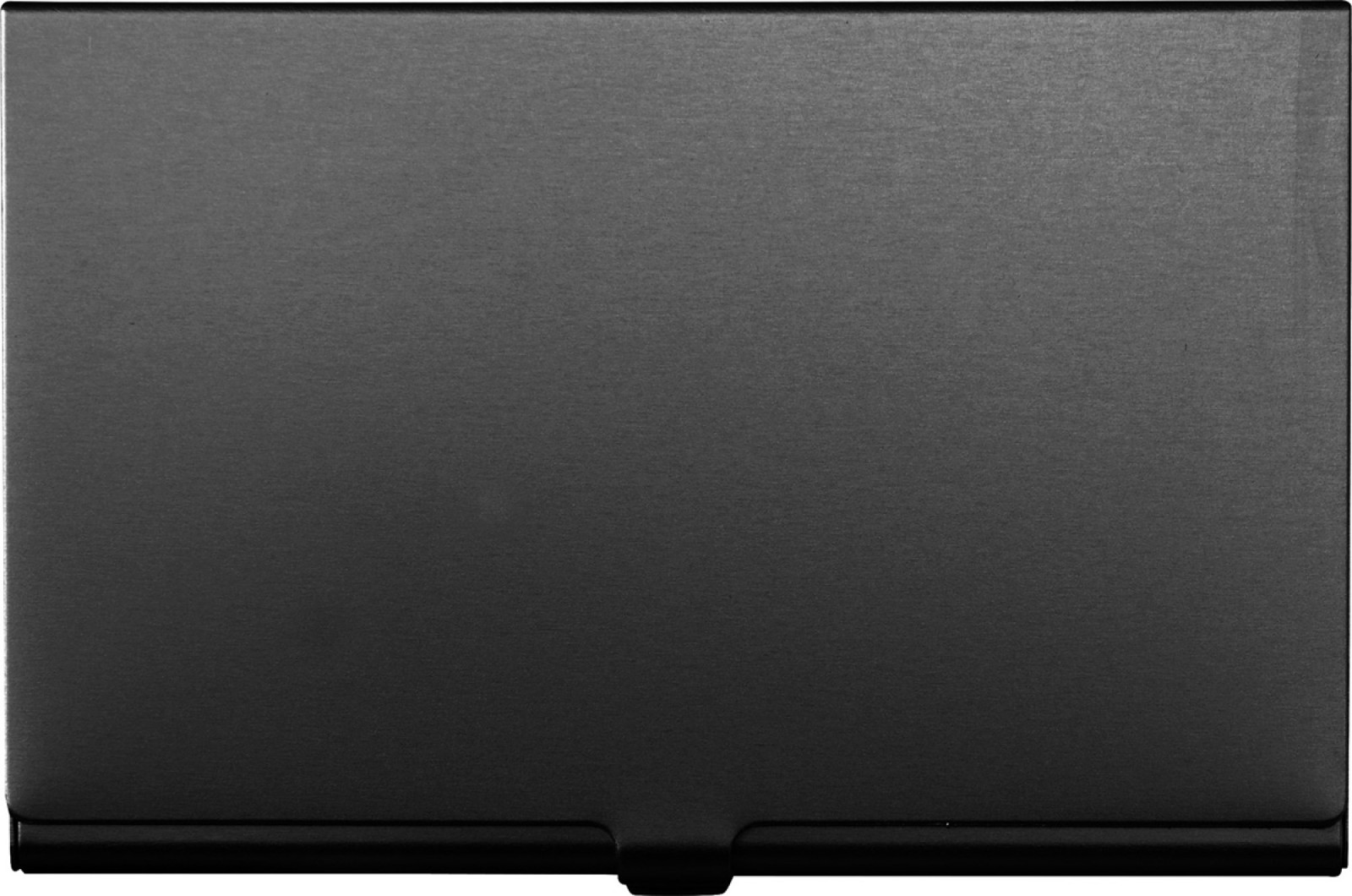 Aluminium card holder - Black