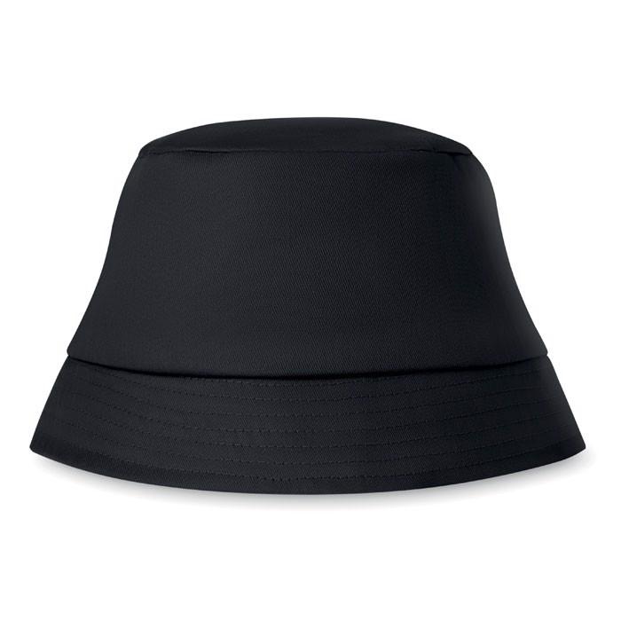 Kapelusz plażowy 160 gr/m² Bilgola - czarny