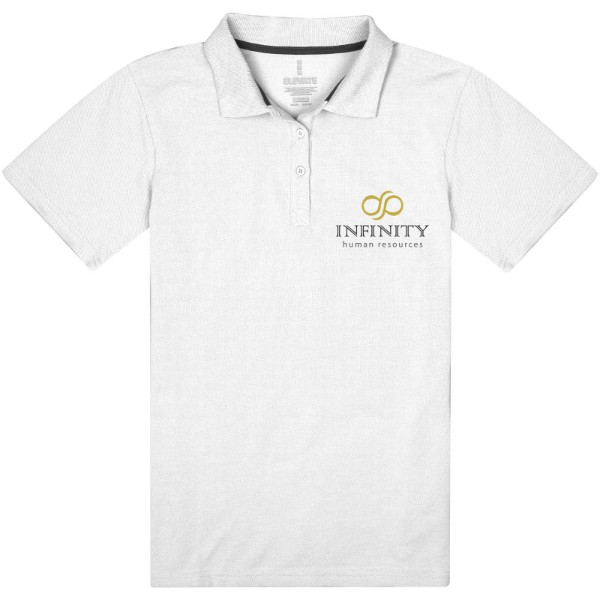 Primus short sleeve women's polo - White / XS