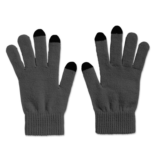 Tactile gloves for smartphones Tacto - Grey