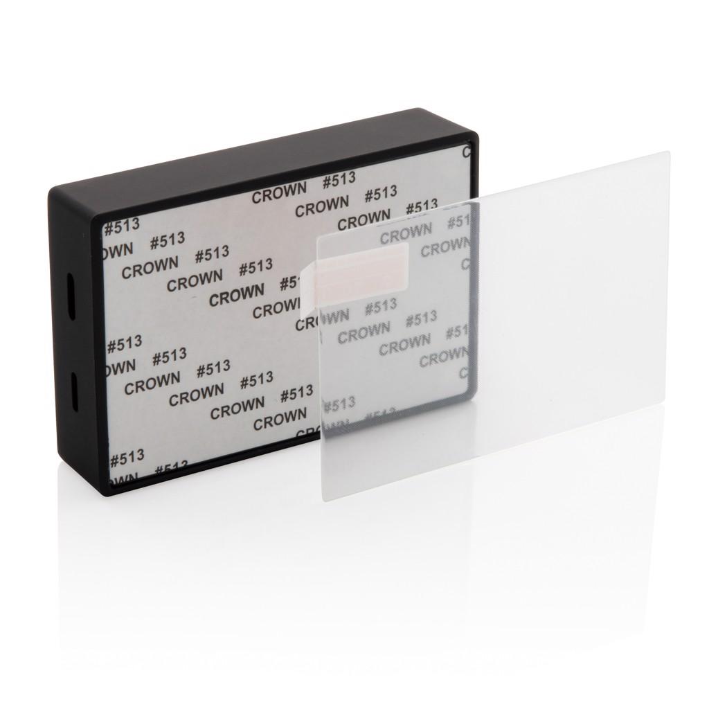 Edzett üveg borítású 3W-os vezeték nélküli hangszóró