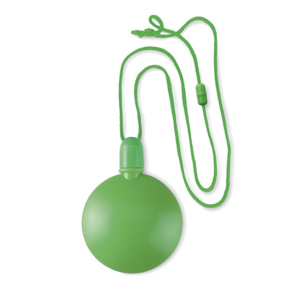 Round bubble blower Sopla Round - Lime