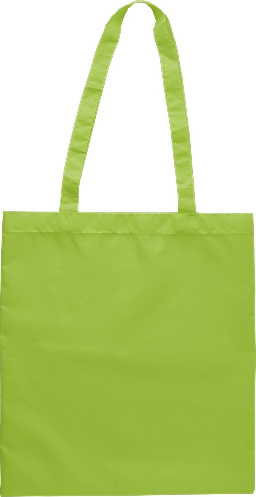 RPET polyester (190T) shopping bag - Lime