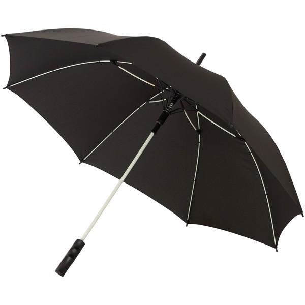 """23"""" větruodolný deštník Stark s automatickým otvíráním - Bílá / Černá"""
