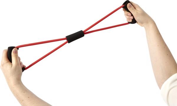 Rubber training strap - Blue