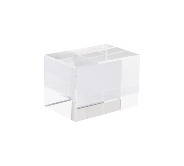 Glas-Quader Lexington - Transparent