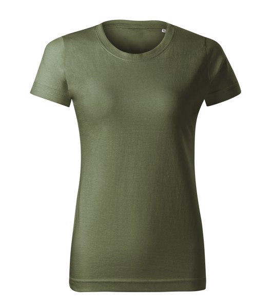 Tričko dámské Malfini Basic Free - Khaki / S