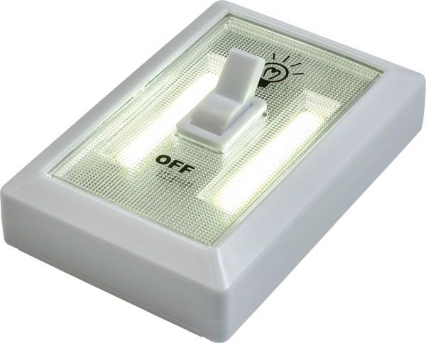 Lampe 'Good night' aus Kunststoff