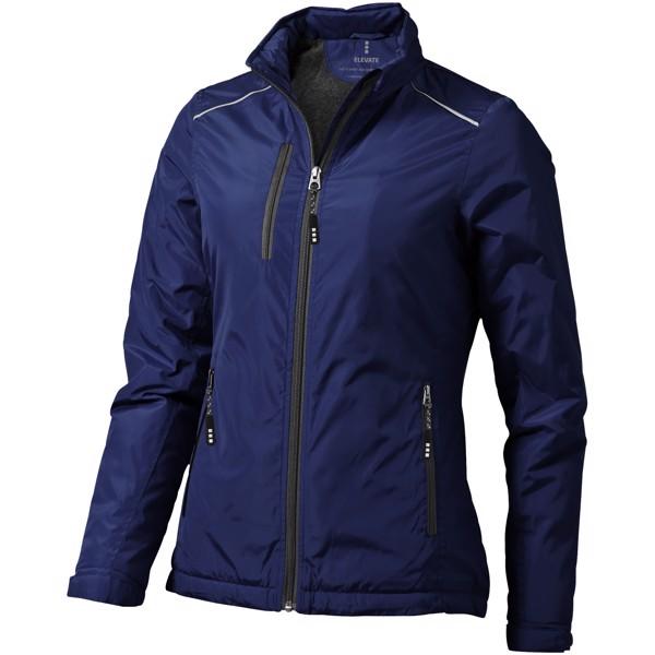 Smithers fleece lined ladies jacket - Navy / XS