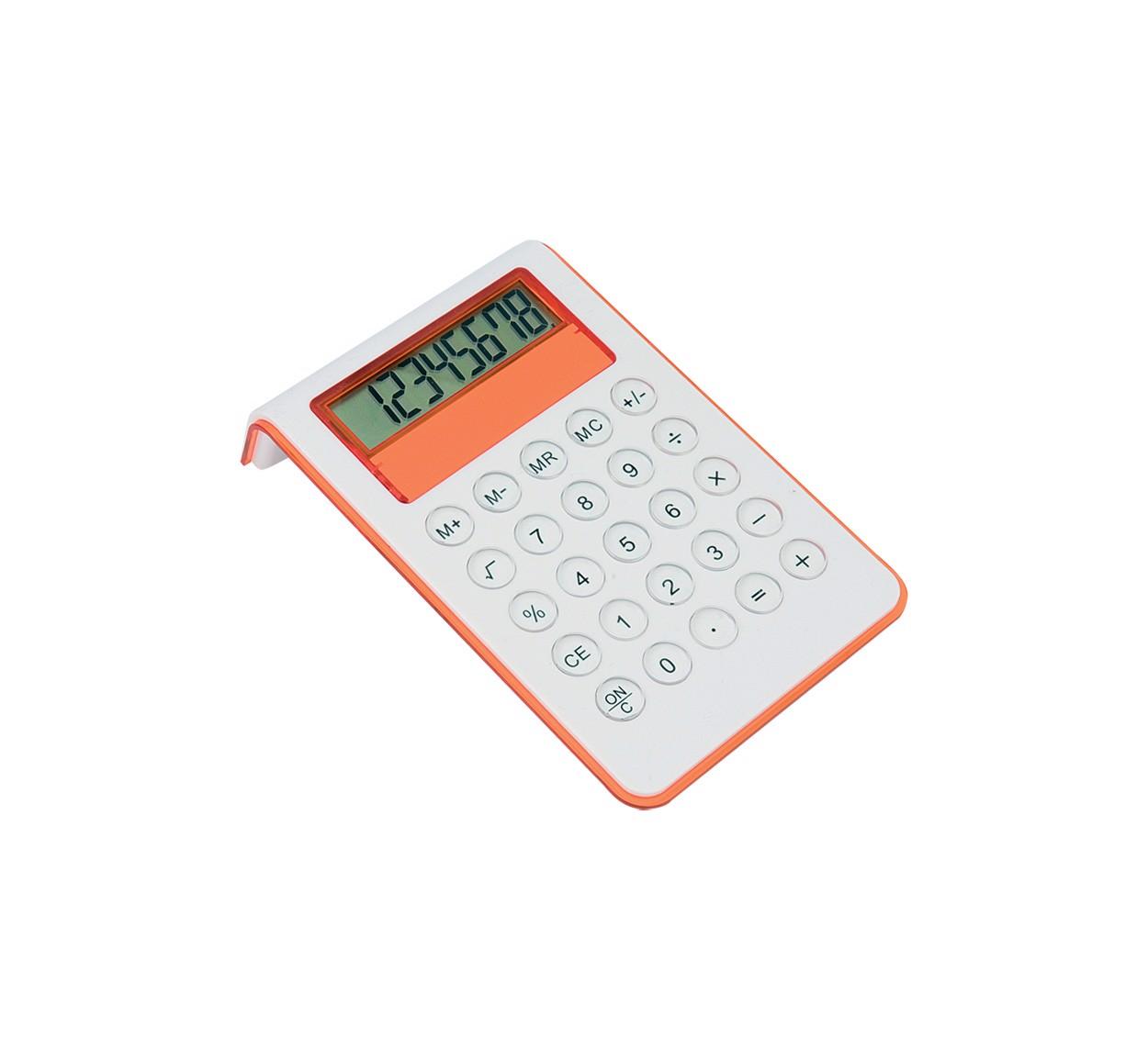 Kalkulačka Myd - Oranžová / Bílá