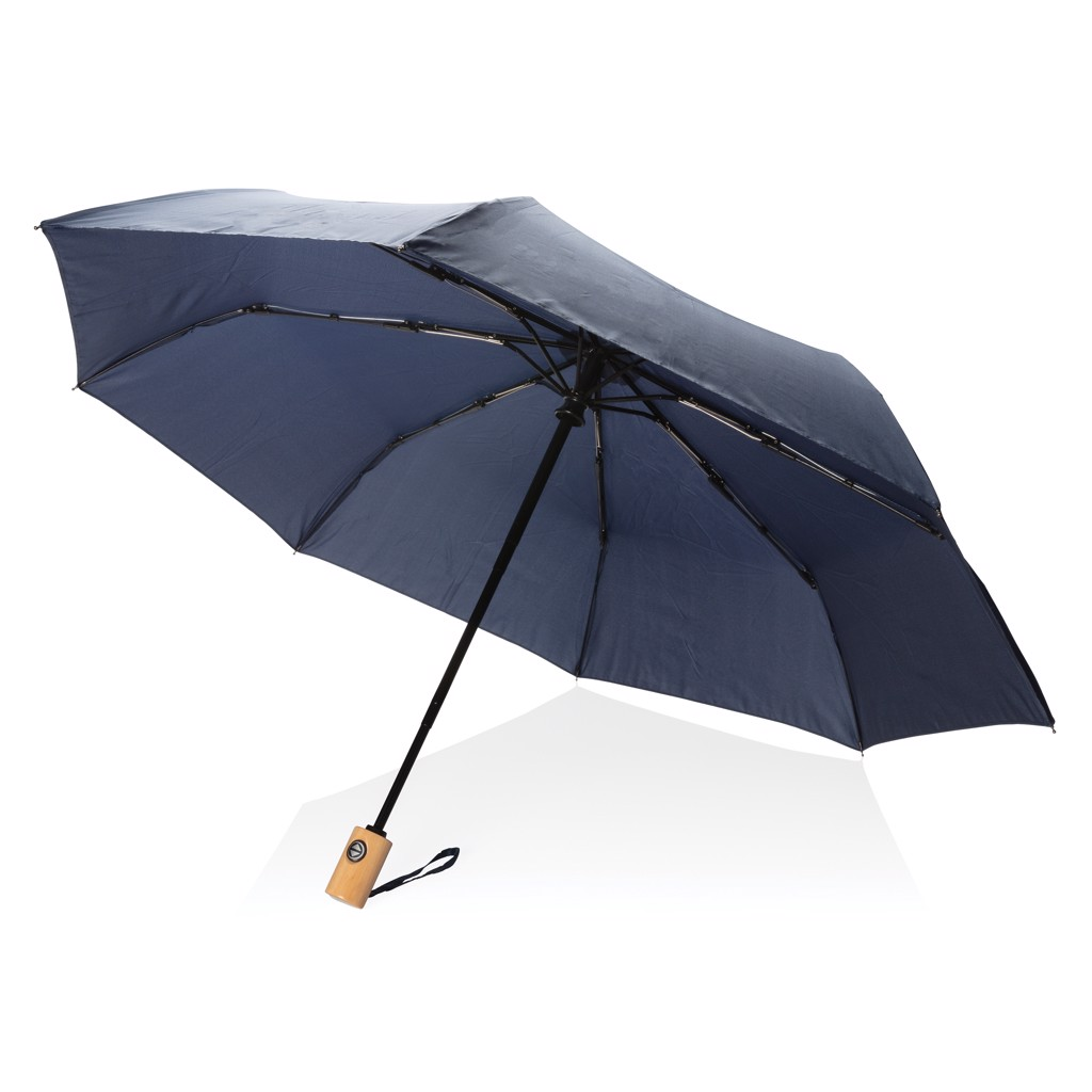 """21"""" automatický deštník z RPET - Námořní Modř"""