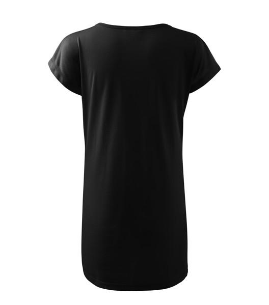 Tričko/šaty dámské Malfini Love - Černá / M