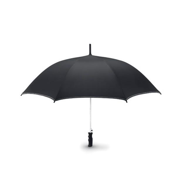 "23""auto open storm umbrella Skye - White"