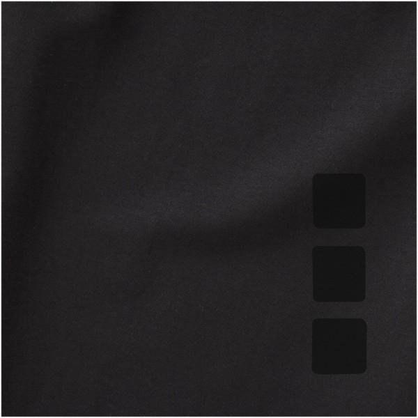Ponoka long sleeve women's GOTS organic t-shirt - Solid black / XL