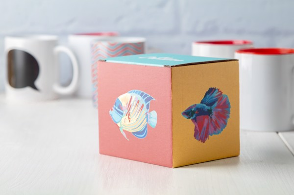 Darilna škatla za skodelice CreaBox Mug A – bela