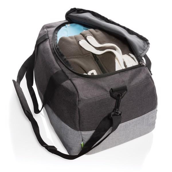 Duo color RFID víkendová taška z RPET
