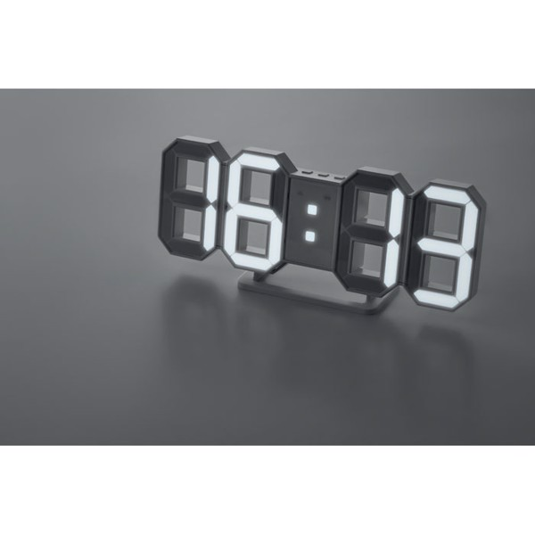 LED Clock with AC adapter Countdown