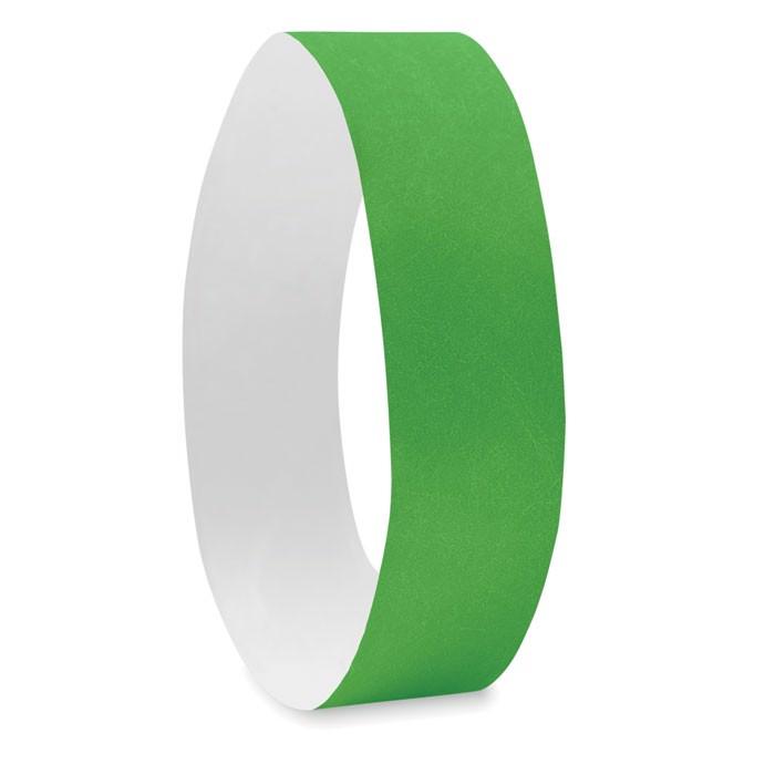 Náramek pro účastníky akcí Tyvek - green