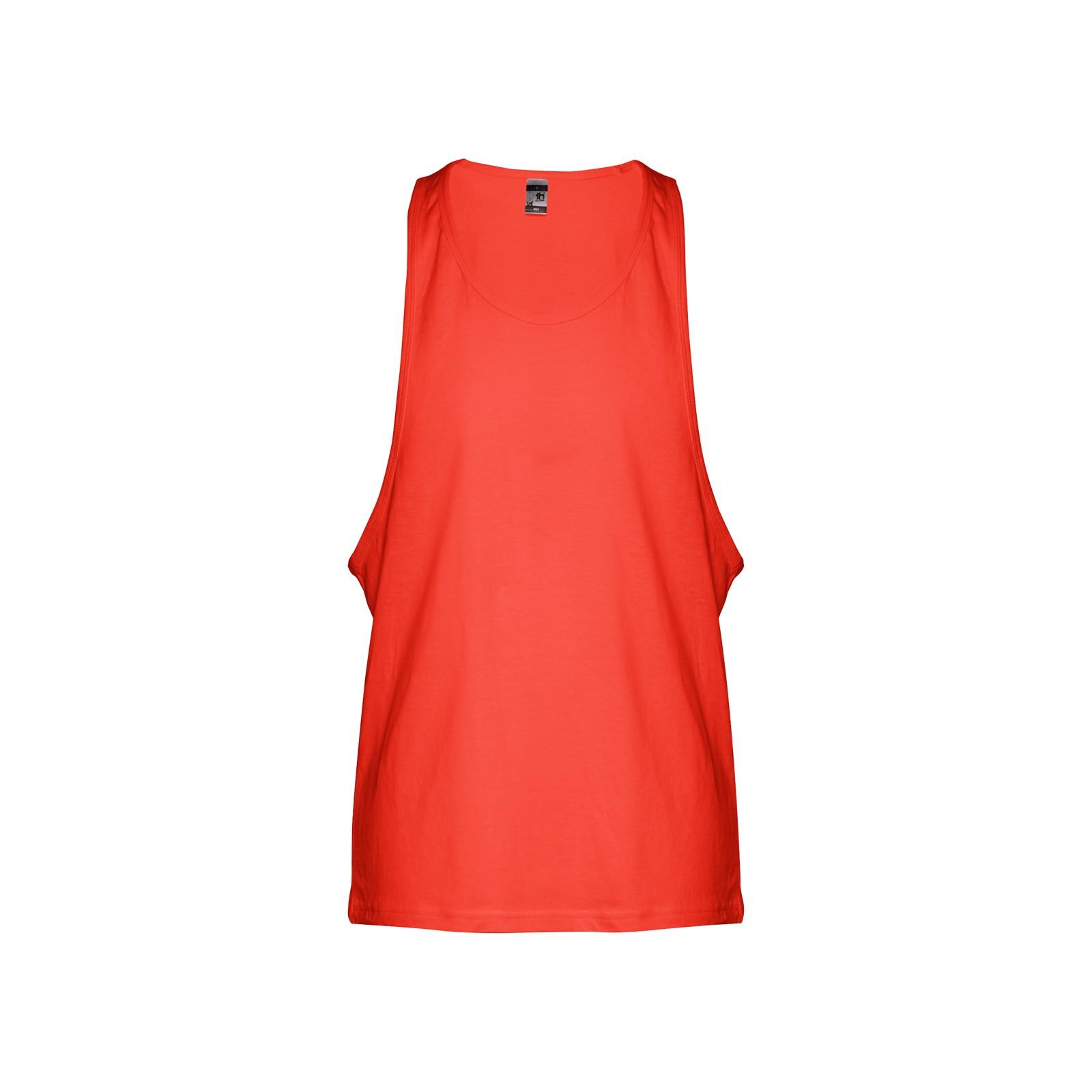 IBIZA. Men's tank top - Coral Orange / S