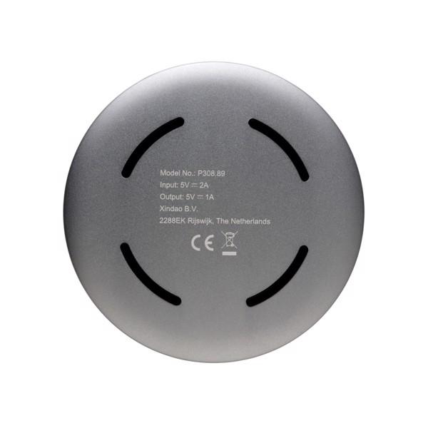 Alumínium 5W-os vezeték nélküli töltő