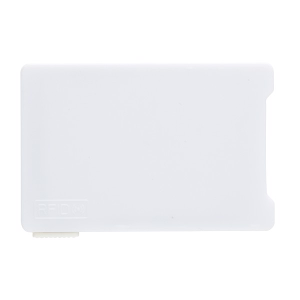 Multiple cardholder with RFID anti-skimming - White