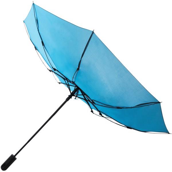 """21,5"""" skládací deštník Traveller s automatickým rozevíráním/skládáním - Modrá"""