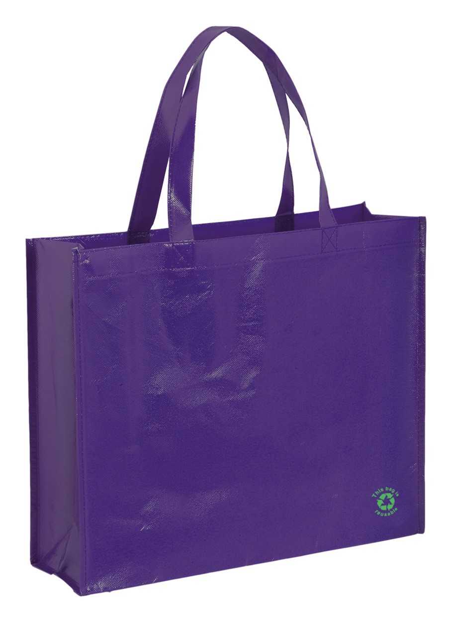 Shopping Bag Flubber - Purple