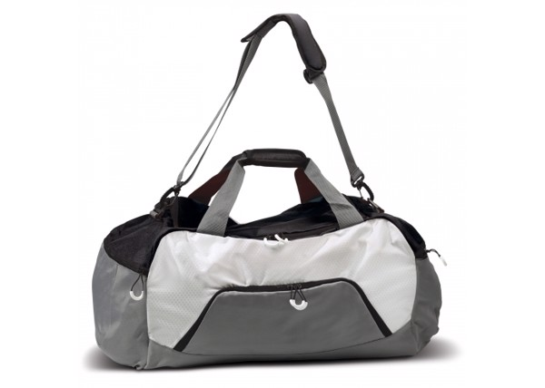 Weekend bag Matthew - Grey / Black