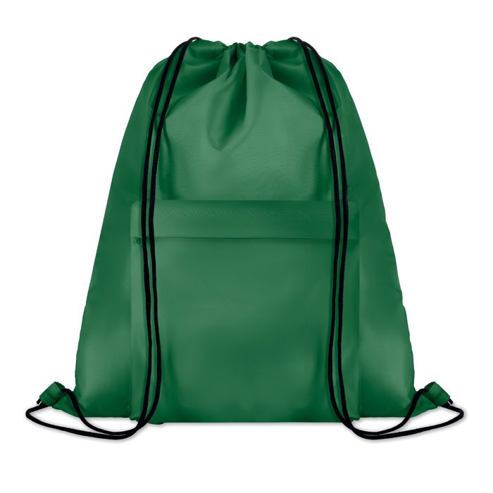 Large drawstring bag Pocket Shoop - Green