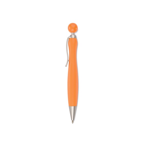 Ball pen with ball plunger Wimen - Orange