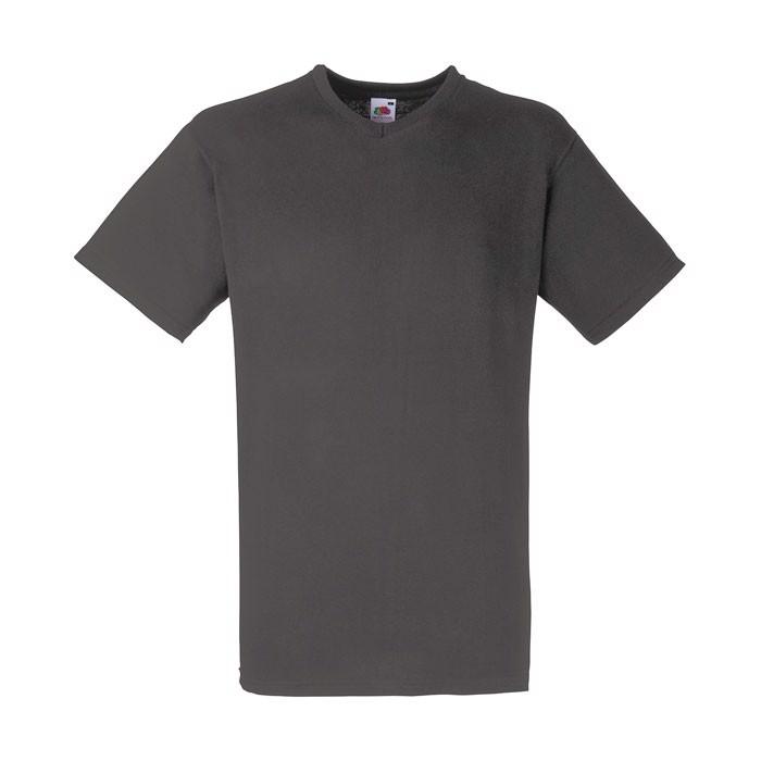 Herren T-Shirt 165 g/m² V-Neck T-Shirt 61-066-0 - Light Graphite / XL