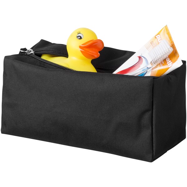 Passage toiletry bag - Solid black