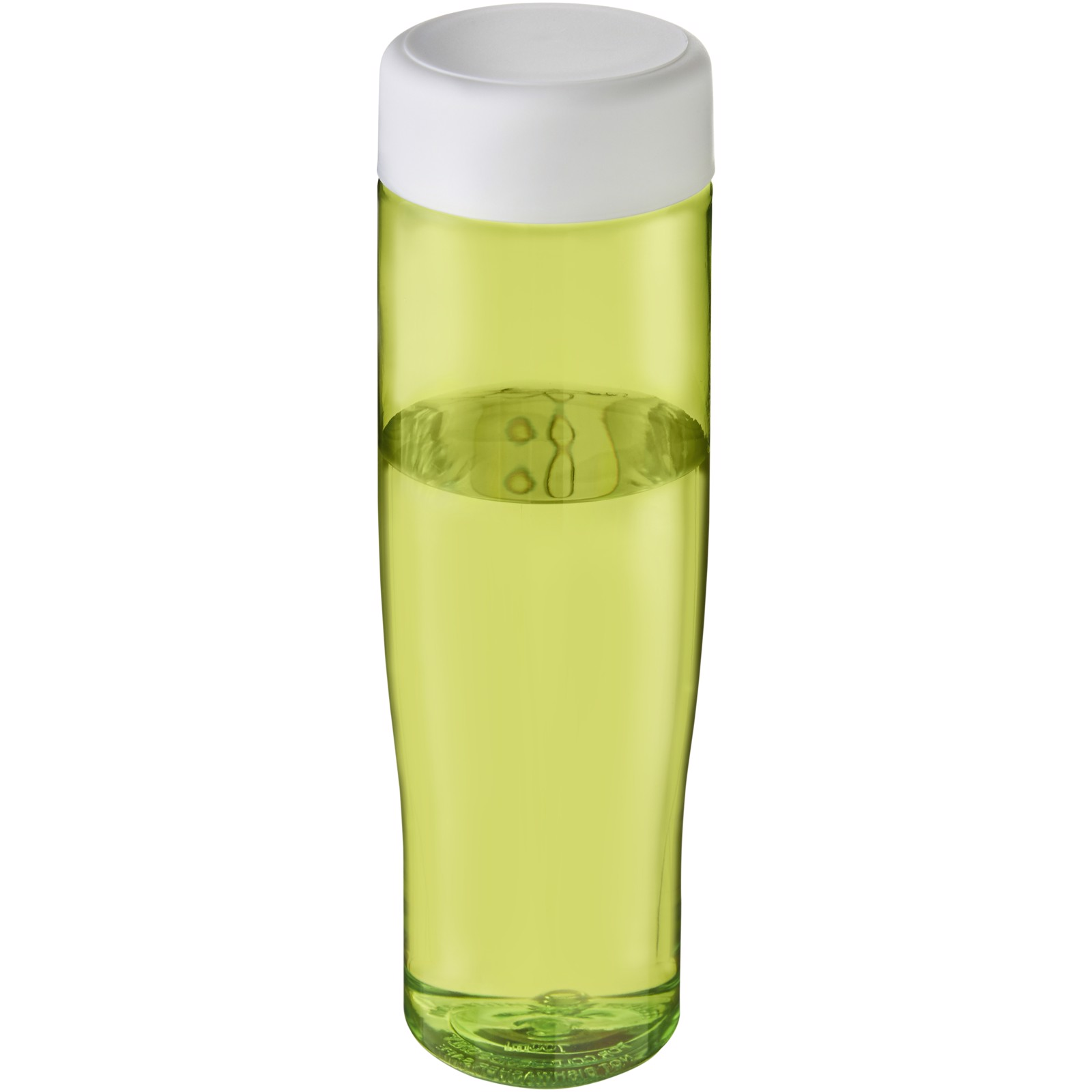 H2O Tempo 700 ml screw cap water bottle - Lime / White