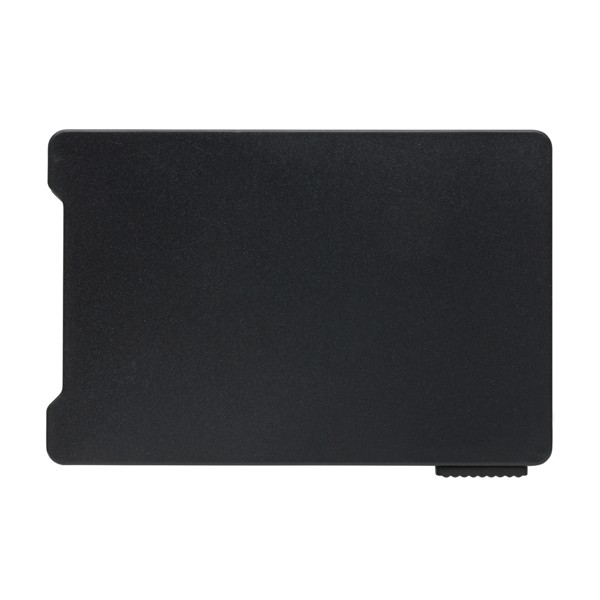 Multiple cardholder with RFID anti-skimming - Black
