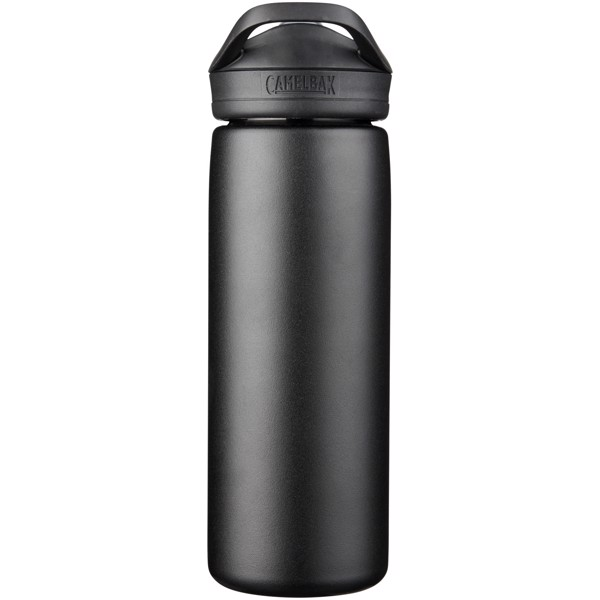 Eddy+ 600 ml copper vacuum insulated sport bottle - Solid black
