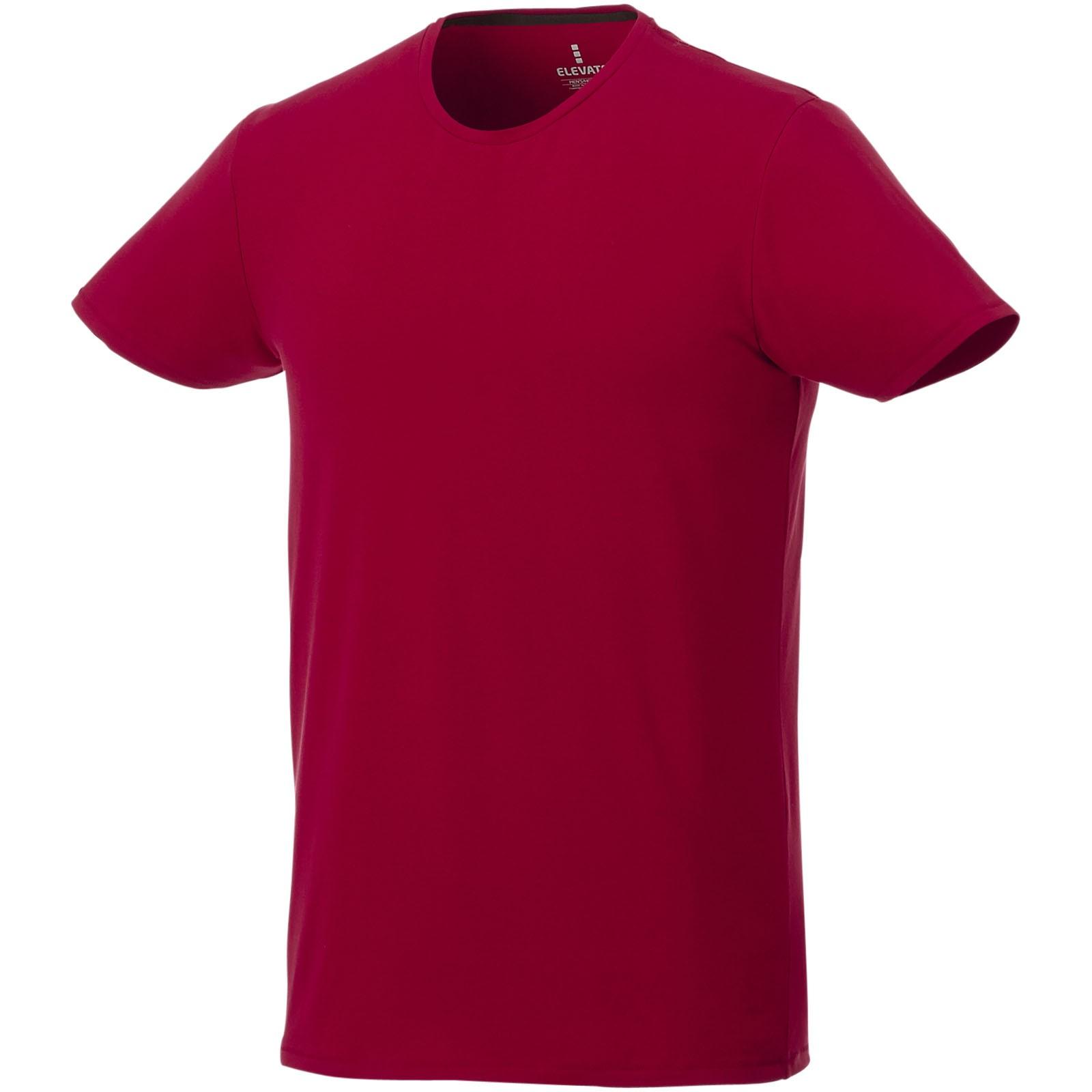Balfour short sleeve men's GOTS organic t-shirt - Red / L