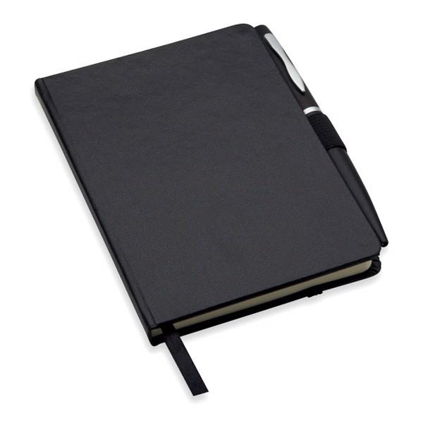 Notatnik formatu A6 z długopis Notalux