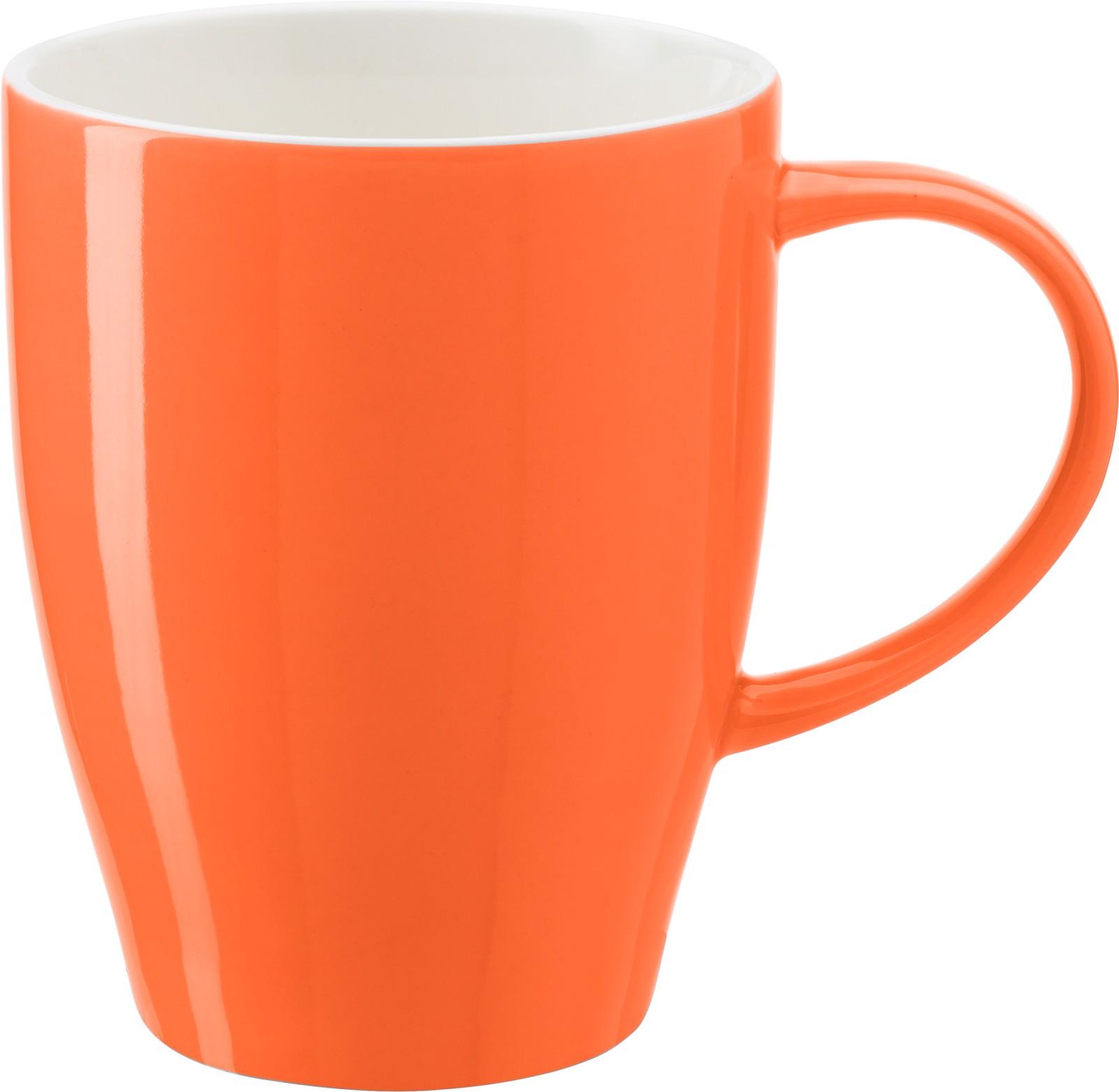 Porcelain mug - Orange