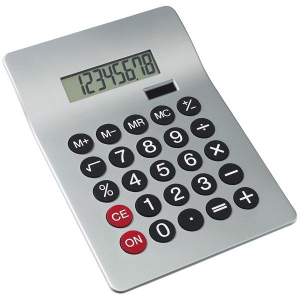 8-Místná Digitální Kalkulačka Glossy