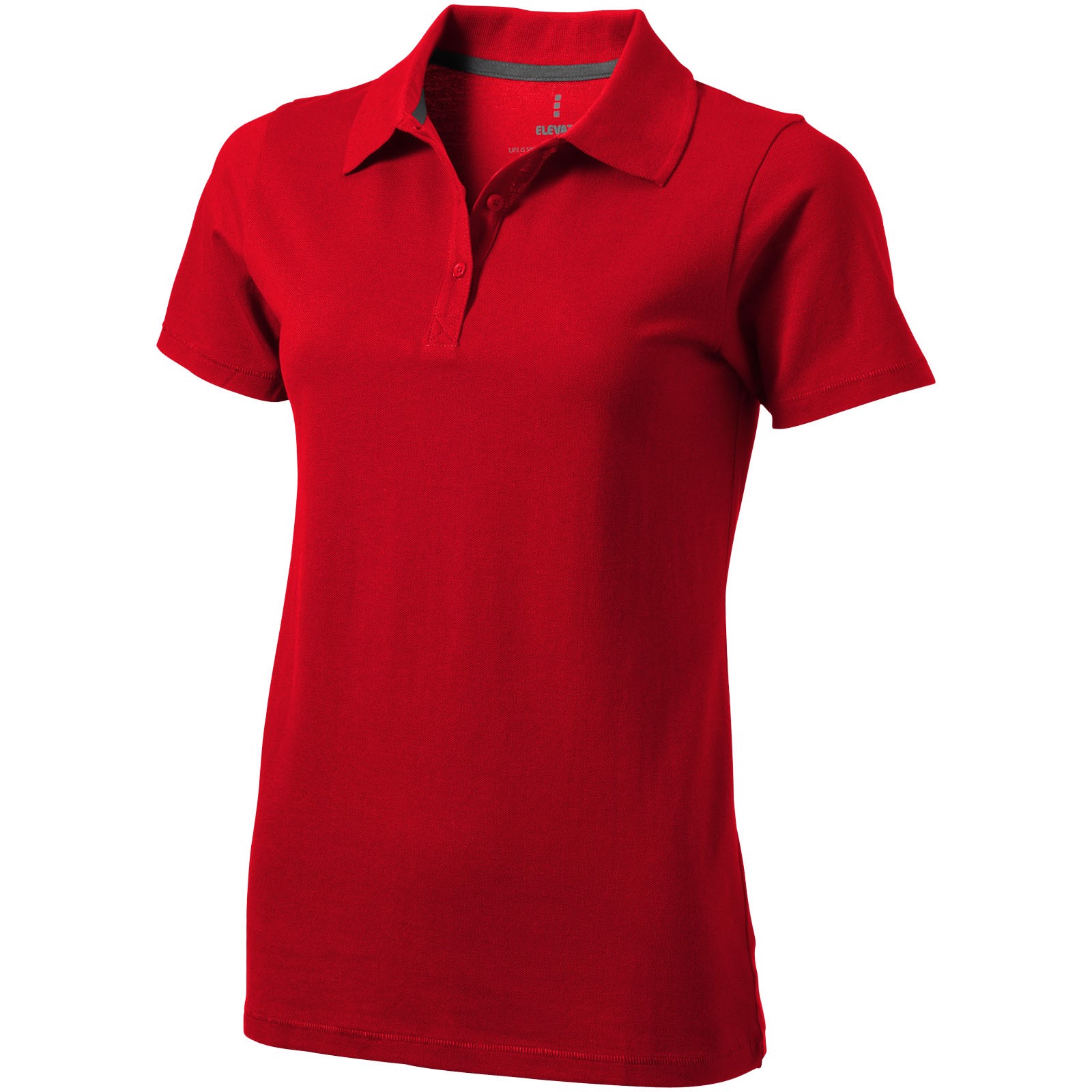 Seller short sleeve women's polo - Red / XL