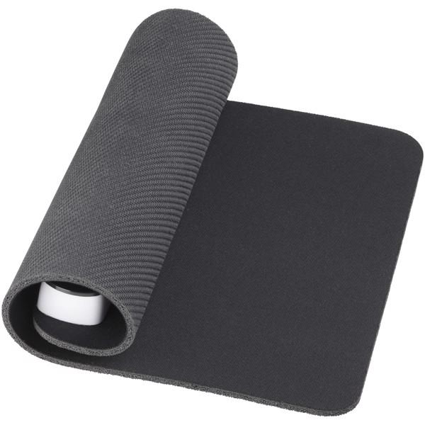 Podložka na myš Cache s USB hubem - Černá