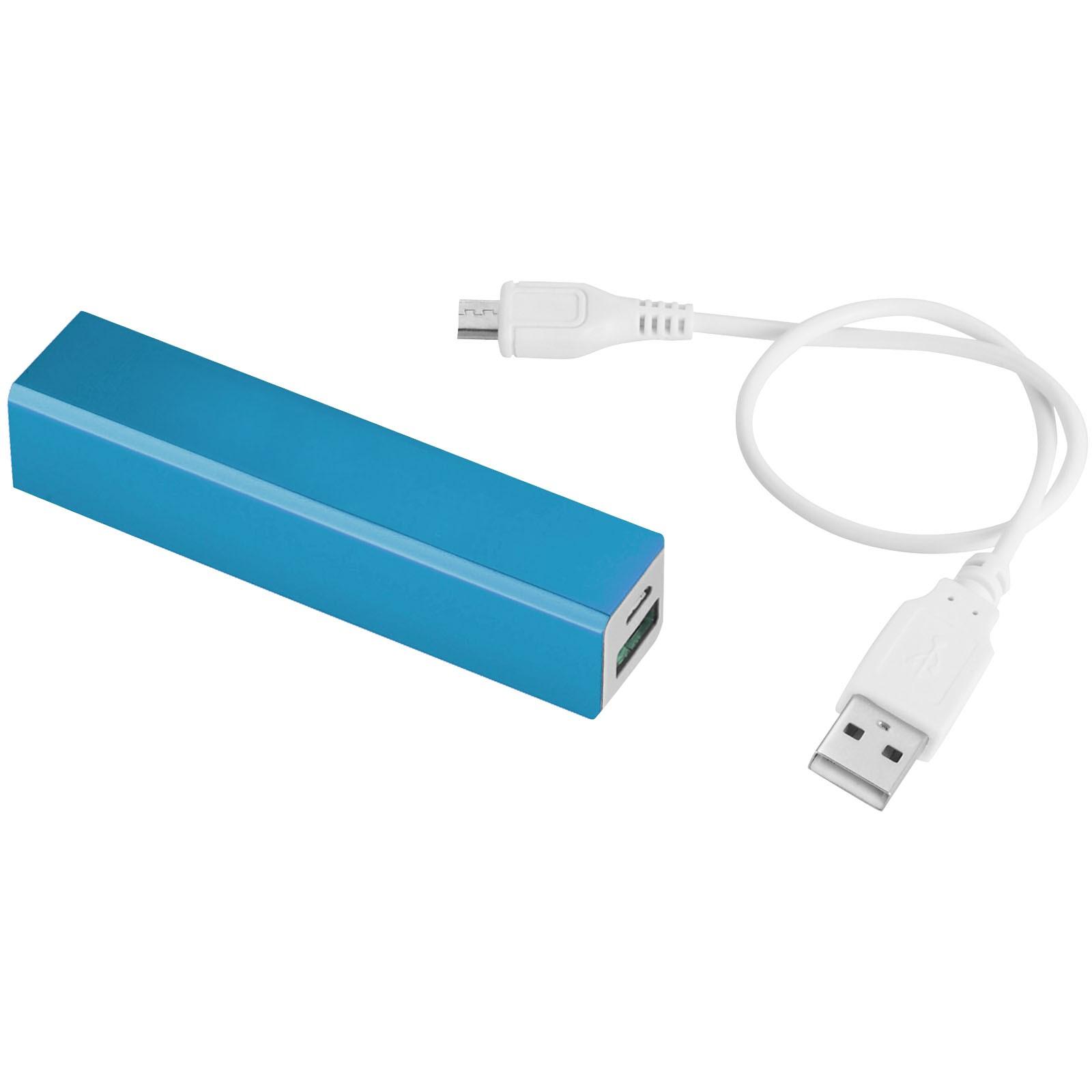 Volt 2200 mAh power bank - Light blue