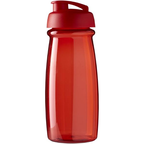H2O Pulse® 600 ml flip lid sport bottle - Red