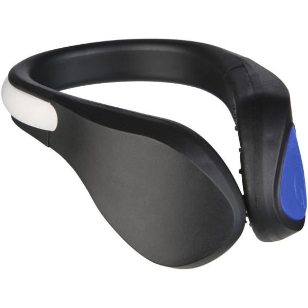 LED světlo na botu Usain - Modrá / Černá