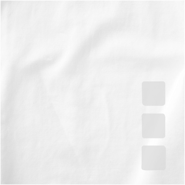 "Camiseta orgánica de manga corta para mujer ""Kawartha"" - Blanco / L"