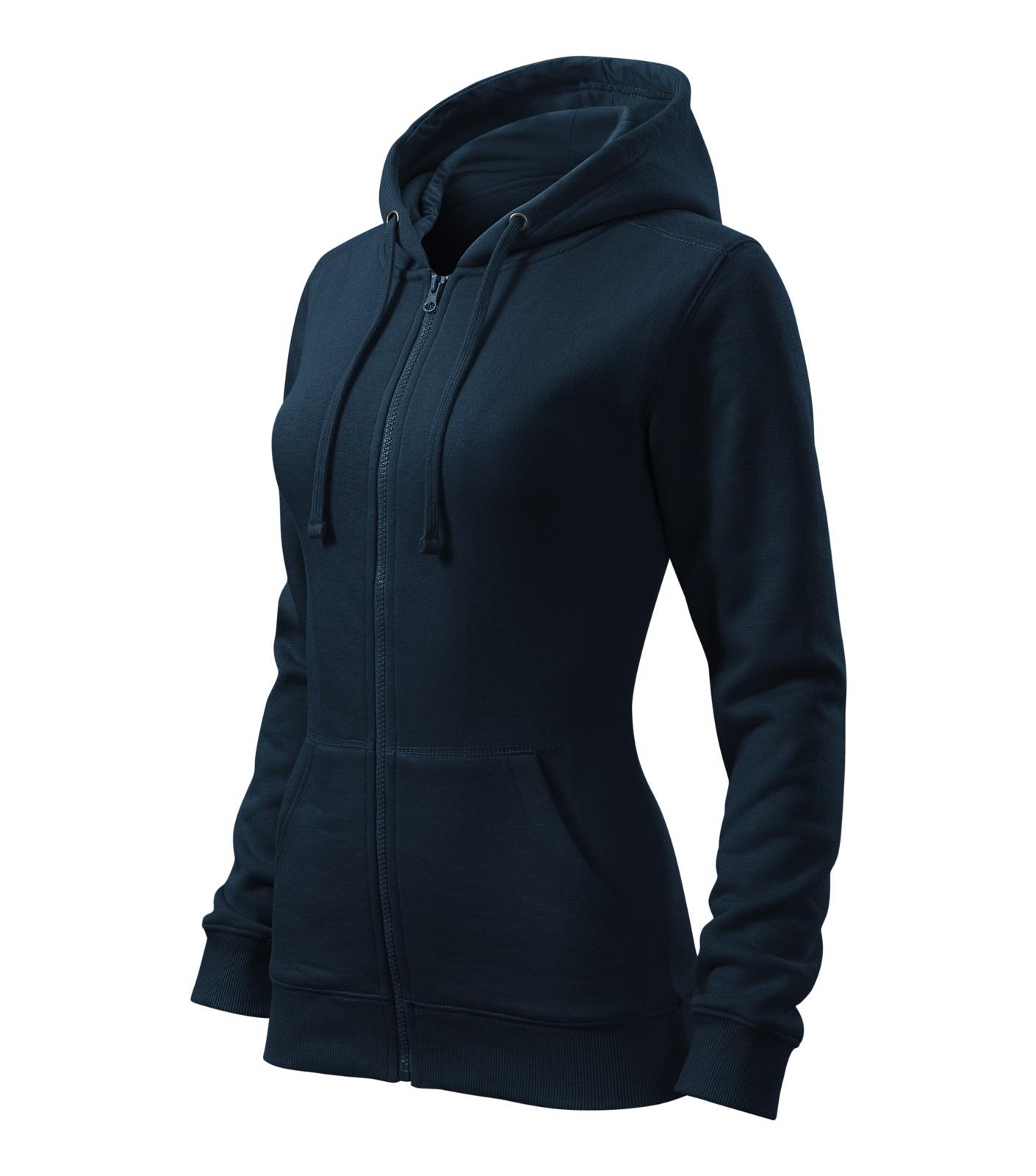 Sweatshirt women's Malfini Trendy Zipper - Navy Blue / XL