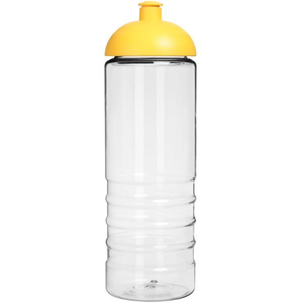 H2O Treble 750 ml sportovní lahev s kupolovitým víčkem - Průhledná / Žlutá