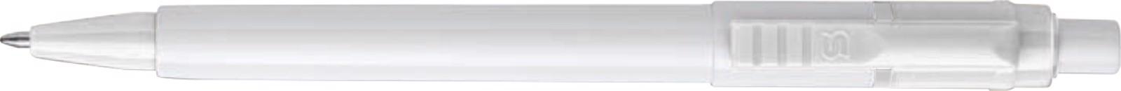 Stilolinea Oslo plastic ballpen Baron - White